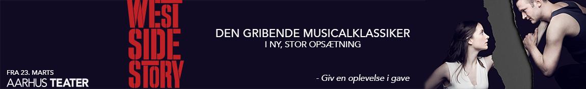 Aarhus Teater – West Side Story – 1150 x 175