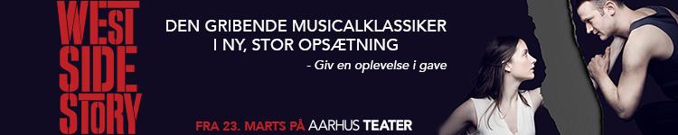 Aarhus Teater – West Side Story – 750 x 150