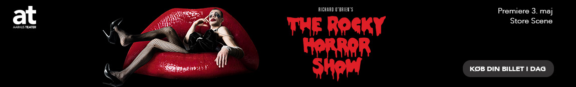 Aarhus Teater – The Rocky Horror Show – 1150 x 175