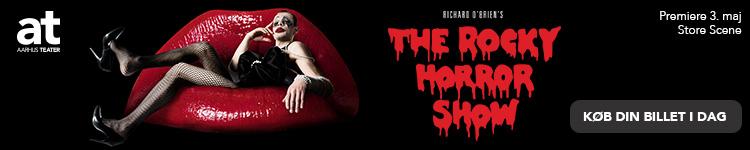Aarhus Teater – The Rocky Horror Show – 750 x 150