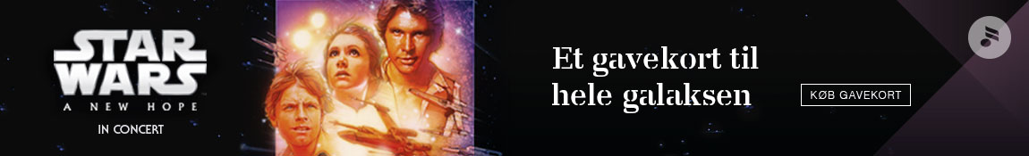 Star Wars – Musikhuset – 1150 x 175