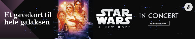 Star Wars – Musikhuset – 750 x 150