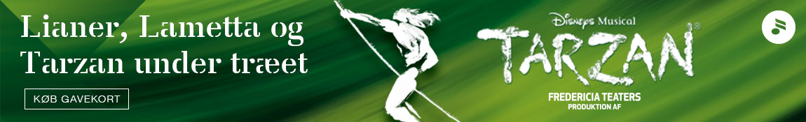 Tarzan – Musikhuset – 1150 x 175